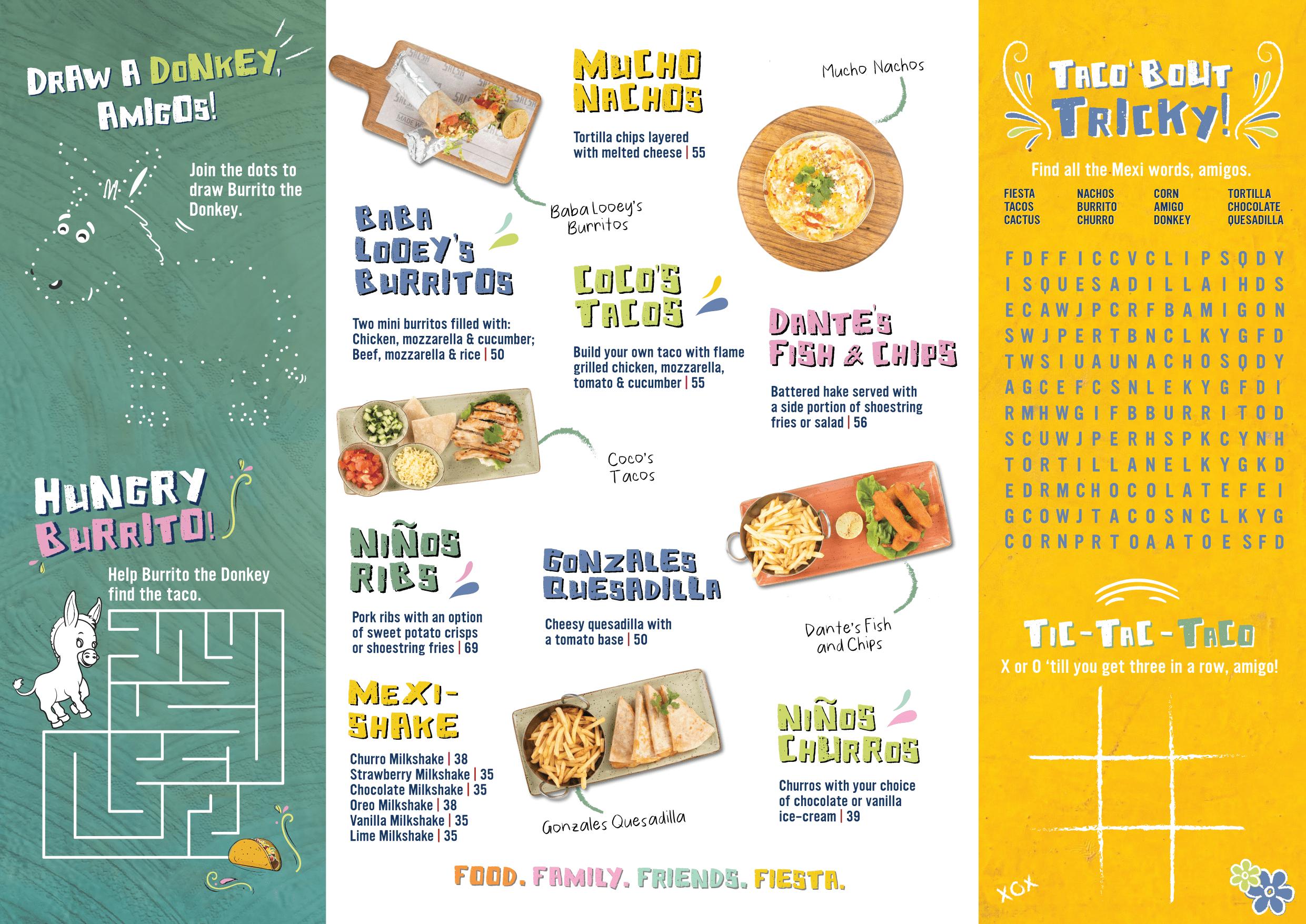 Kids menu_version 4